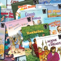 25 Arch Books in Irish for Children